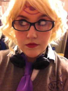Cecilia, the genderbent voice of Night Vale Community Radio