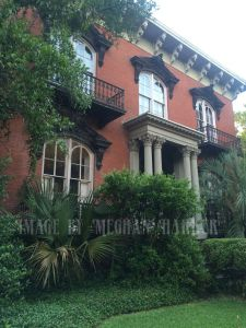Mercer House, Savannah, GA. Home of Midnight in the Garden of Good and Evil and also several murders and a museum.